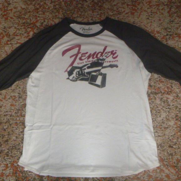 Lucky Brand Other - Lucky Brand Fender 3/4 sleeve t-shirt